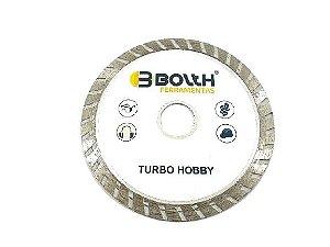 DISCO TURBO HOBBY BRANCO 110MMx8MMx20MM BOLTH