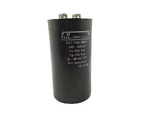 CAPACITOR ELETROLÍTICO 350-408UF 220V 50-60HZ 70ºC