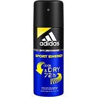 Desodorante Antitranspirante Adidas Masculino Aerosol Sport Energy 72h Masculino - 150 ml