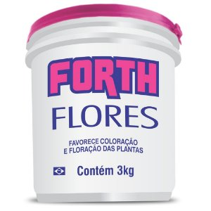 Fertilizante Forth Flores 3 Kg