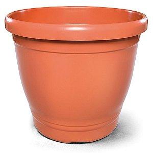 Vaso Plástico Primavera 8 Litros - Cerâmica  ATENÇÃO: Pode ser adquirido em kits!