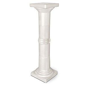 Coluna Plástica Decorativa 86 cm - Pérola