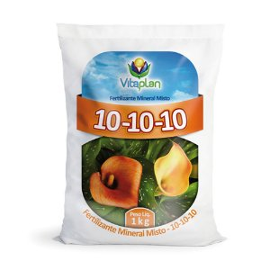 Fertilizante Mineral Misto 10-10-10 1Kg
