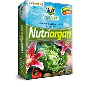 Fertilizante Organomineral Nutriorgan - 1 Kg