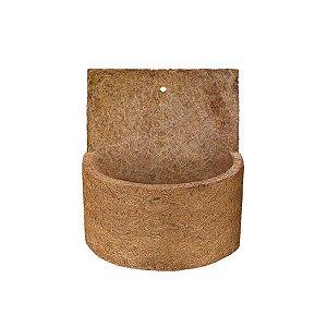 Vaso de Fibra de Coco de Parede Médio 15x20