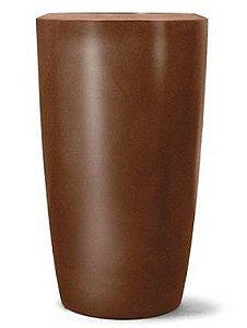 Vaso Classic Cônico N66 Ferrugem 65x38