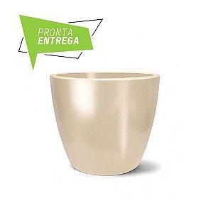 Vaso Classic Redondo N33 Areia