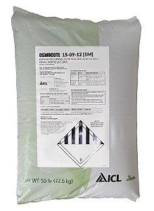 Fertilizante Osmocote 15-09-12 / 5-6 meses - Saca 22,6 Kg