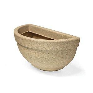 Vaso de Parede Texturizado N34 Areia 19x35