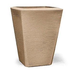 Vaso Grafiato Trapézio N50 Areia 50x37