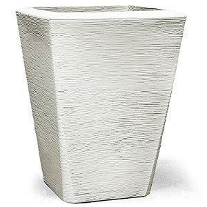 Vaso Grafiato Trapézio N43 Branco 43x34