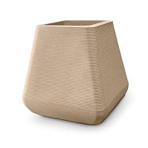 Vaso Riscatto Quadrado N42 Areia 43x28