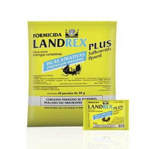Fomicida Landrex 500gr - 10 pçs de 50gr