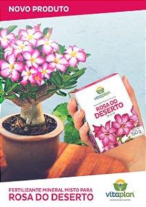 Fertilizante Mineral Misto para Rosa do Deserto 150gr