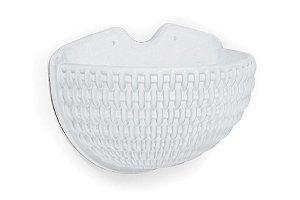 Cachepô N37 Athenas De Parede Branco 30x38