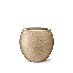 Vaso Grafiato Oval N32 Areia 32x28
