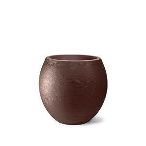 Vaso Grafiato Oval N32 Tabaco 32x28