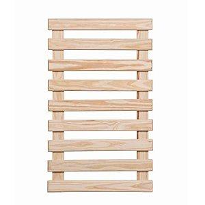 Treliça de madeira 1,00mt x 60cm