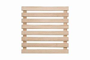 Treliça de madeira 80cm x 80cm