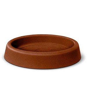 Prato Para Vaso Roto Redondo N60 Ferrugem Nutriplan