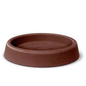 Prato Para Vaso Roto Redondo N47 Tabaco Nutriplan