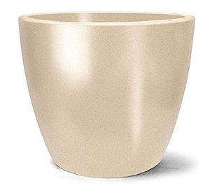 Vaso Classic Redondo N40 Areia 40 x 42,6