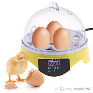 Chocadeira De Ovo Elétrica Automática Bivolt - Cabe 7 Ovos