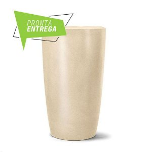 Vaso Classic Conico N66 Areia 65 x 38