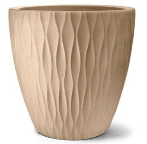Vaso Infinity Redondo N29 Areia 29x29