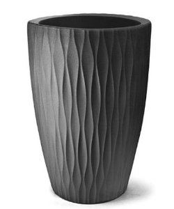 Vaso Infinity Cônico N28 Preto 28x20