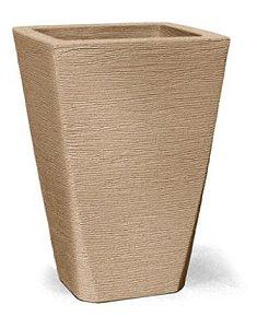 Vaso Grafiato Trapézio N28 Areia 28x21