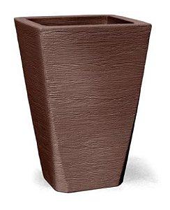 Vaso Grafiato N28 Tabaco 28x21