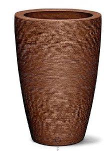 Vaso Grafiato Cônico N29  29X20 Ferrugem