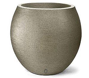 Vaso Grafiato Oval N26 Granito 26x23