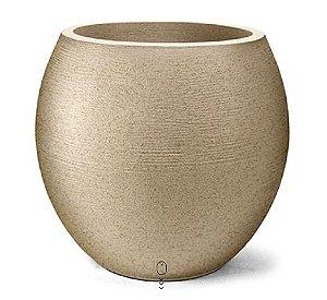 Vaso Grafiato Oval N 58 Areia 58x51
