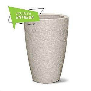 Vaso Grafiato Conico N65 Cimento