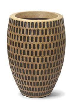 Vaso Maia Oval N30 Envelhecido 30x19