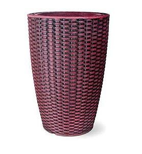Vaso Treccia Cônico N39 Rubi 39x29,9