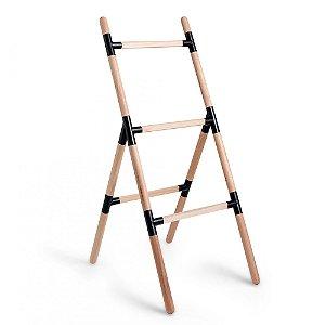 Suporte Escada Eleve Raiz 3 Níveis Preto