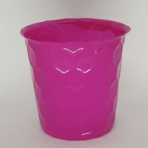 VASO PET COLMEIA FLEXIVEL M - ROSA - KIT COM 10 UNIDADES