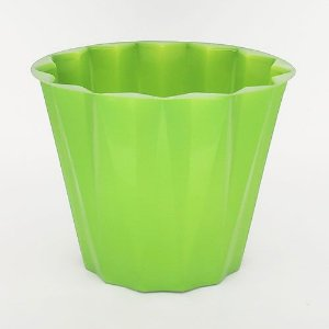 VASO PET CONSTELACAO FLEXIVEL M - VERDE - KIT COM 10 UNIDADES