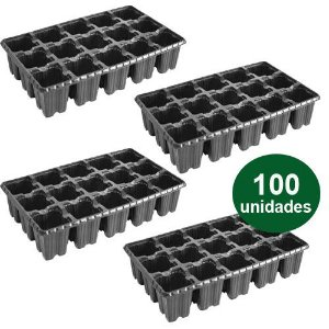 BANDEJA PLASTICA 15 CELULAS ALTA - 100 UND