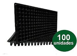 BANDEJA PLASTICA 200 CELULAS - 100 UND