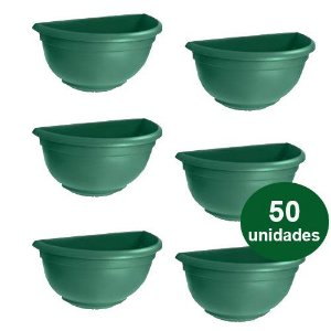 VASO DE PAREDE MINI  VERDE - 50 UND