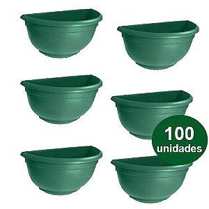 VASO DE PAREDE PEQUENO - VERDE - 100 UND