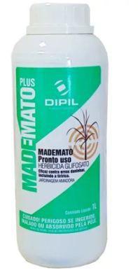 Herbicida para o Controle de Ervas Daninhas - MADEMATO PLUS Glifosato  1 Litro Dipil