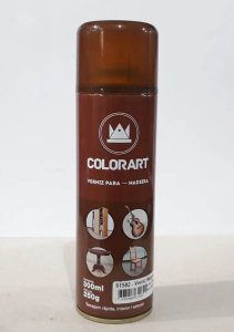 Tinta Spray Verniz Madeira Colorart - Cores
