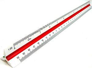 Escalímetro Triangular Vision 30cm / nº1