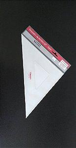 Esquadro de Acrílico 45° - 32 cm Vision