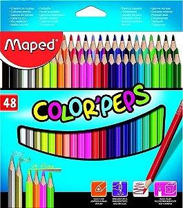 Lapis de cor Color'Peps 48 Cores- MAPED